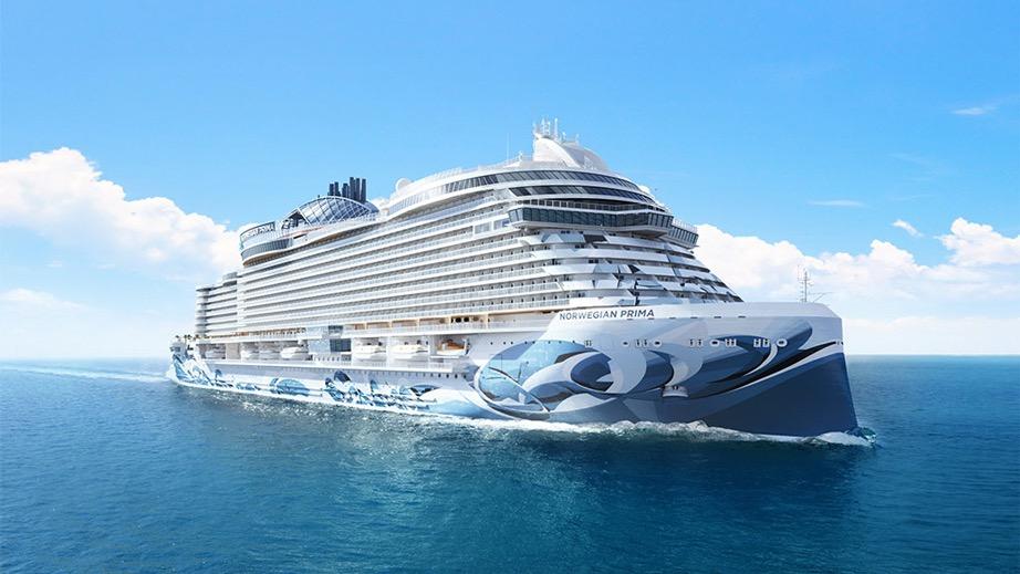 "In arrivo ""Prima"", la nuova nave di Norwegian"